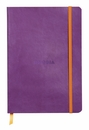 Rhodiarama Soft Cover Notebook - Medium, Purple, Lined