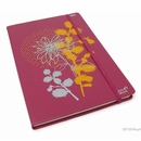 Robert le Heros Journal - Large, Raspberry, Lined