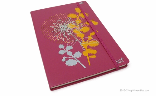 Robert le Heros Journal - Large, Raspberry, Lined - Click to enlarge