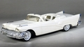 1958 Buick Roadmaster Convertible Promo, White with White Interior and Gold Seat Inserts