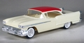 1958 Olds 98 4-Door Hardtop X-EL Promo, Off-White with Red Roof
