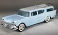 1959 Rambler Station Wagon Promo, Light Blue with White Top and Side Spear