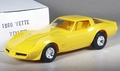 1980 Corvette Coupe Promo, Yellow, with Box