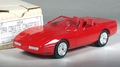 1990 Chevy Corvette Convertible Promo, No Year on Plate, Bright Red, with Box