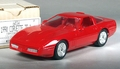 AMT ERTL 1990 Chevy Corvette ZR-1 Coupe Promo, 1990 on Plate, Bright Red, with Box