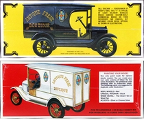 "AMT 1923 Ford ""T"" Delivery Van, ""The Vintage Tinsmith,"" ""Antique Freak Boutique"" or ""Nestle's"""
