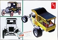 AMT 1925 Ford Fruitwagon, Roadster or Pickup, Stock and Street Rod, Double Kit - TWO COMPLETE CARS!