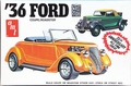 AMT 1936 Ford Roadster or Unchopped 3-Window Coupe, Stock or Street Rod