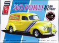AMT 1940 Ford Sedan Delivery, Stock, Street Rod or Drag