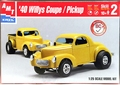 AMT 1940 Willys Coupe or Pickup Street Gasser