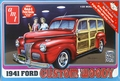 AMT 1941 Ford Custom Woody Street Rod