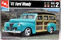 AMT 1941 Ford Woody Station Wagon Custom Street Rod