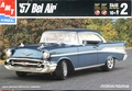 AMT 1957 Chevy Bel Air Hardtop Street Machine - New Tool with Opening Trunk