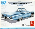 AMT 1957 Ford Thunderbird Hardtop or Convertible, 1/16th Scale