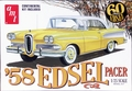 AMT 1958 Edsel Pacer Hardtop with Optional Continental Kit