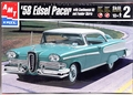 AMT 1958 Edsel Pacer Hardtop with Optional Continental Kit and Skirts