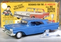 """AMT 1959 Ford Galaxie Hardtop """"Craftsman"""" Built Kit with Box"""