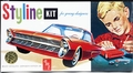 """AMT 1961 Ford Galaxie Hardtop """"Styline"""" Kit"""