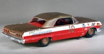 AMT 1963 Chevy Impala SS Convertible 3 in 1 Built Kit with Up-Top