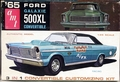 AMT 1965 Ford Galaxie 500 XL Convertible, 3 in 1, Stock, Drag or Gene Winfield Custom