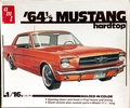 AMT 1964 1/2 Mustang Hardtop, 1/16 Scale