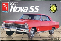 AMT 1966 Chevy Nova SS Hardtop, Stock or Street Machine