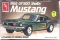 AMT 1968 Mustang Shelby GT-500, Stock, Custom or Drag
