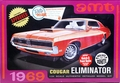 AMT 1969 Mercury Cougar Eliminator Boss 302, White