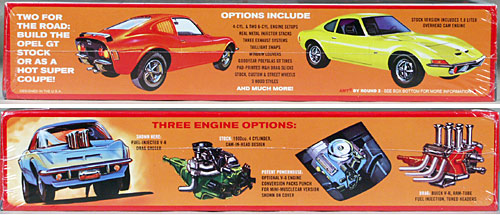 Image result for AMT opel GT engine