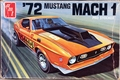AMT 1972 Mustang Mach 1 Fastback, Stock, Custom, Road Racer, or Pro Stock Drag Car
