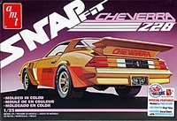 "AMT 1980(?) Herb Adams ""Cheverra"" Z-28 Camaro, Snaps Together"