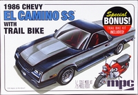 MPC 1986 El Camino SS with Trail Bike