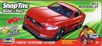 Revell 2015 Mustang GT Coupe, SnapTite, Red