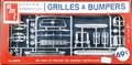"AMT Chrome ""Grilles & Bumpers"" Parts Pack"