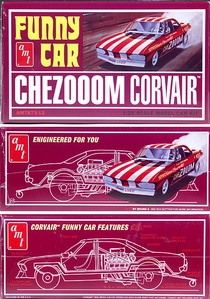 "AMT Corvair ""CheZooom"" Mid-Engined Funny Car"