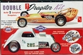 "AMT ""Double Dragster"" Fiat Altered and Early Dragster"