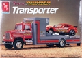 "AMT Ford LN 8000 Transporter ""Tennessee Thunder"" Set, Includes Hauler and Dodge Omni Puller Car"