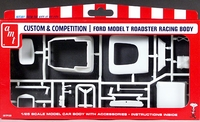 "AMT Ford ""T"" Drag Racing Body – Custom & Competition Parts Pack"