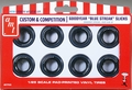 "AMT ""Goodyear 'Blue Streak' 9.00 x 15 Drag Slicks"" Custom & Competition Parts Pack"