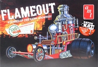 "AMT John Bogosian's ""Flameout"" Rear-Engined Show Rod"