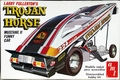 "AMT Larry Fullerton ""Trojan Horse"" 1975 Mustang II Funny Car, Original Issue"