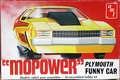 "AMT ""Mopower"" 1974 Plymouth Satellite Funny Car"
