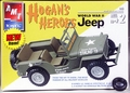 AMT (MPC) Hogan's Heroes World War II Jeep or Surry Version - Extra Tire Included