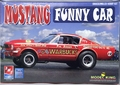 "AMT Phil Bonner ""Warbucks"" 1966 Mustang Altered Wheelbase A/FX Funny Car"