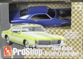 AMT Pre-Painted Metallic Blue 1966 Buick Riviera Lowrider with Bicycle