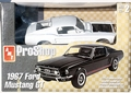 AMT Pre-Painted White 1967 Mustang GT 2+2 Fastback