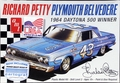 AMT Richard Petty #43 1964 Plymouth Belvedere