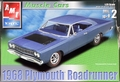 AMT Stock 1968 Plymouth Road Runner Hardtop