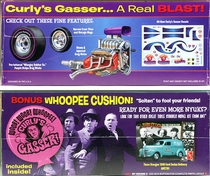 """AMT The Three Stooges """"Curly's Gasser"""" 1940 Willys Coupe"""
