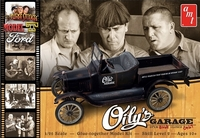 "AMT ""The Three Stooges"" ""Oily's Garage"" 1925 Ford Model ""T"" Roadster and Unchopped Coupe - Double Kit"